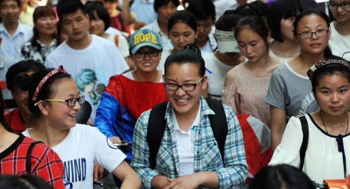 CHINA-EDUCATION-EXAM
